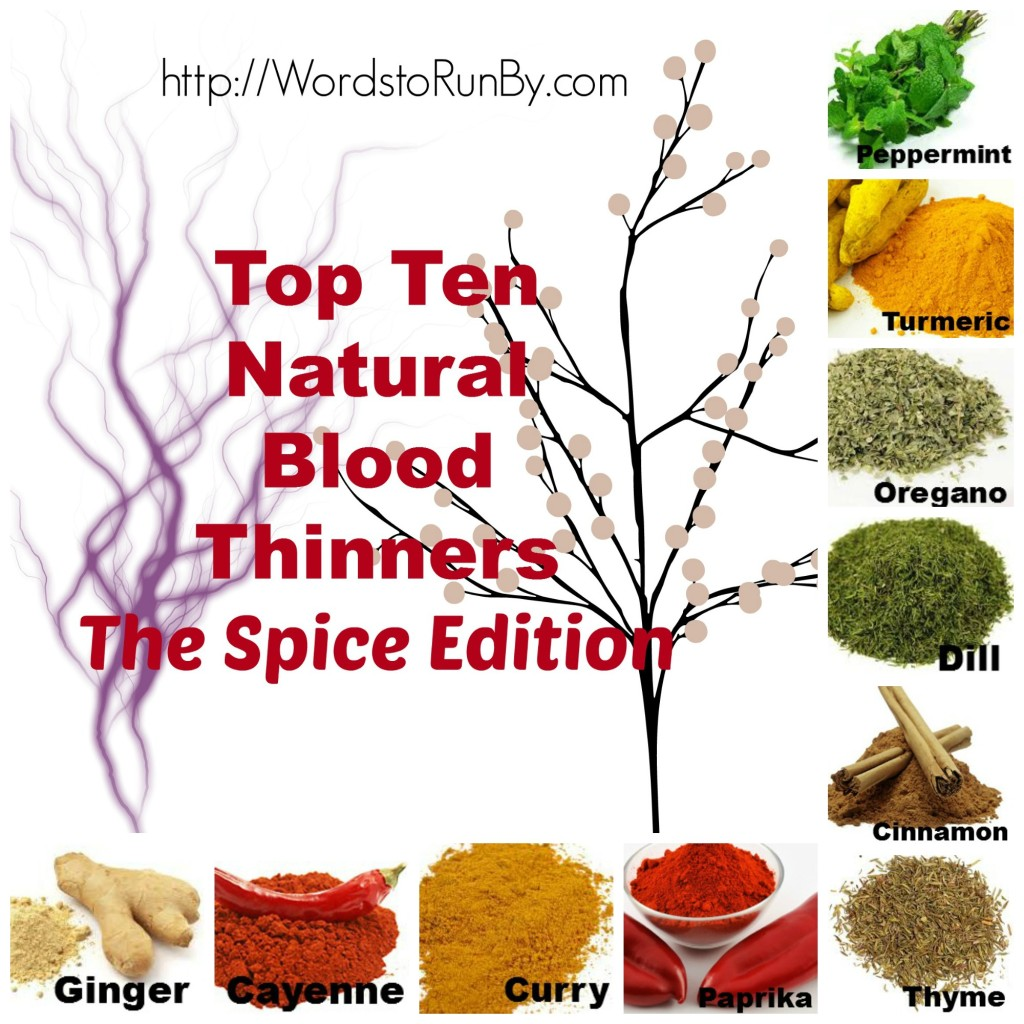 Top Ten Natural Blood Thinners Cover