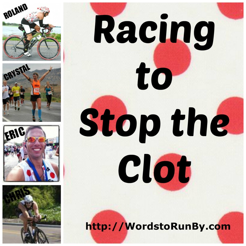 Racing to Stop the Clot Cover