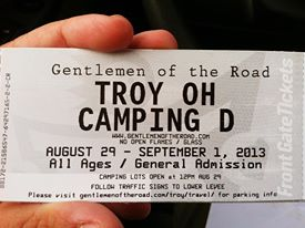 GOTR Stopover in Troy Camping Pass