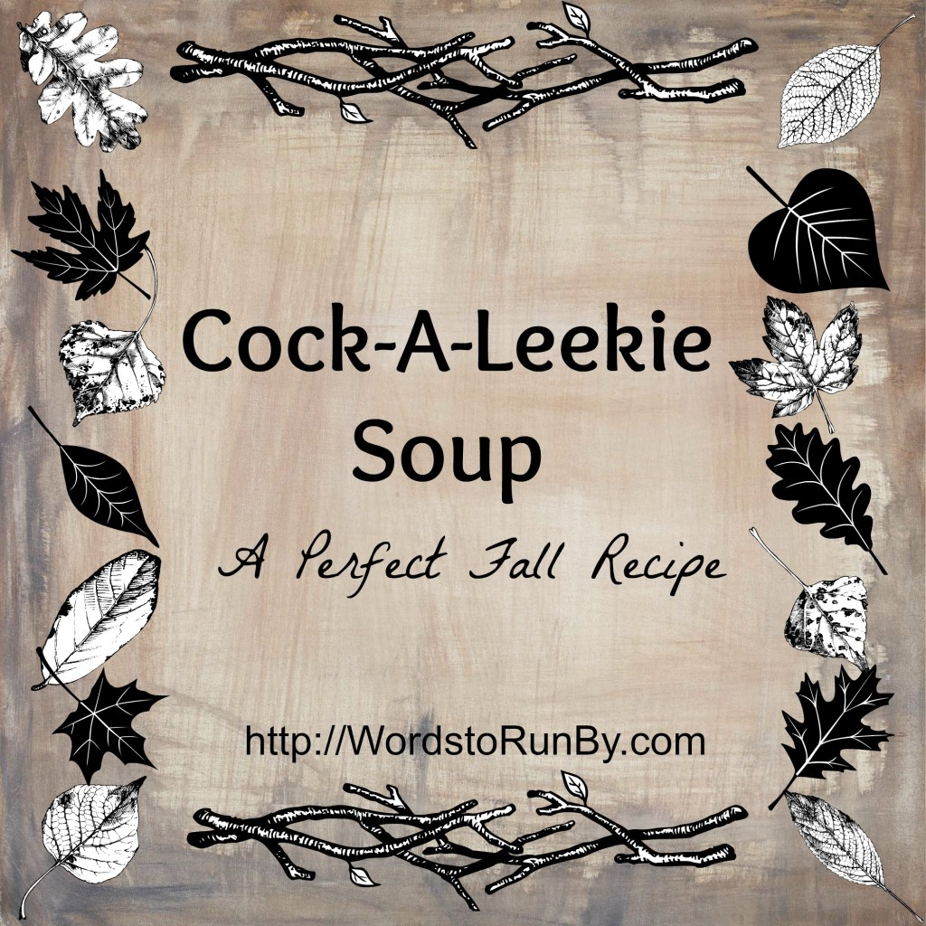 Cock-A-Leekie Soup Cover